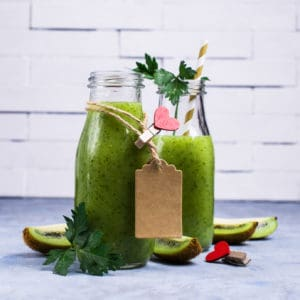 Smoothie mit Avocado
